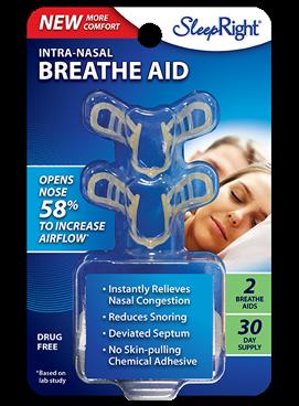 SleepRight Intra-Nasal Breathe Aid