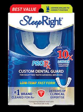 Sleep Right ProRx Custom Dental Guard